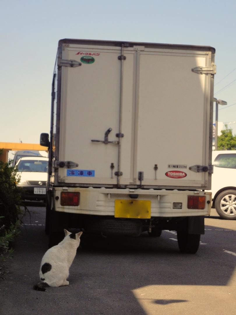 札幌にて駐車場 危ないぞ